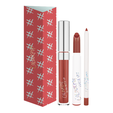 Set son Colour Pop Just Bee-Have Lip Trio