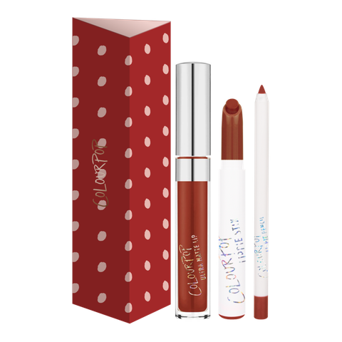 Set son Colour Pop Keep It Going Lip Trio