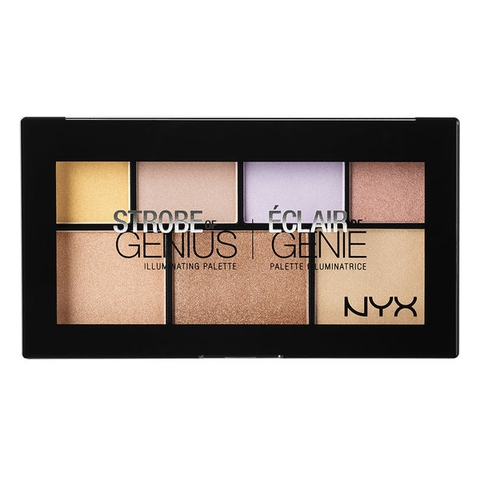 Phấn Hight Light NYX Strobe of Genius Illuminating Palette