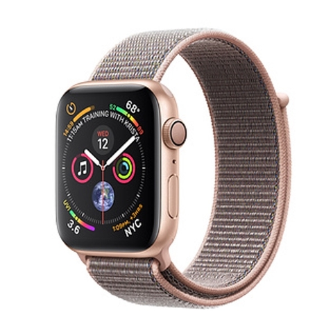 Apple Watch Series 4 Gold Aluminum/Pink Sand Sport Loop