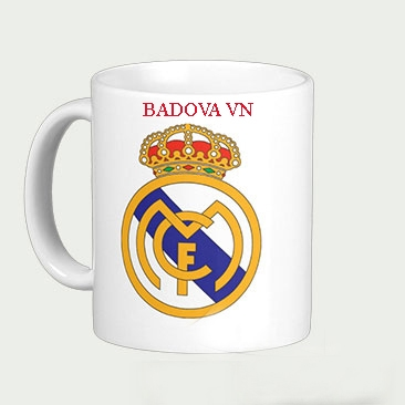 Cốc in logo Real Madrid  C-05