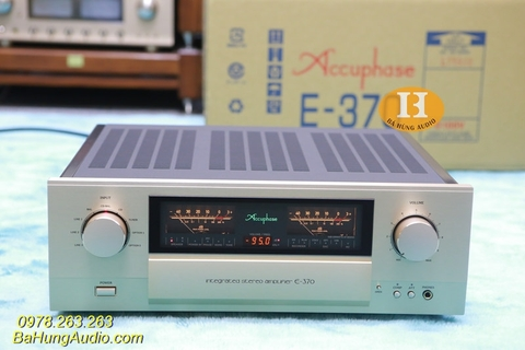 Amply Accuphase E370 Hàng Demo mới cứng