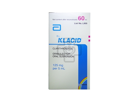 Klacid Suspension 125mg/5ml 60ml