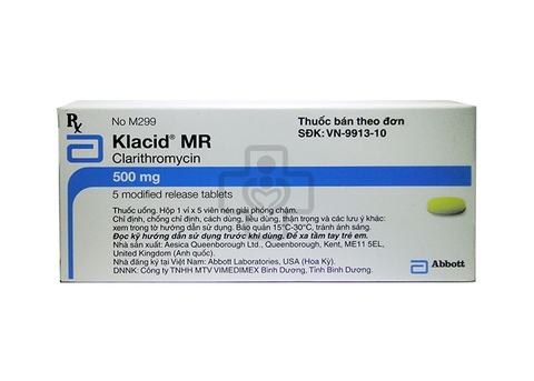 Klacid MR 500mg