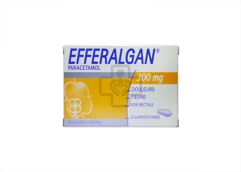 Efferalgan 300mg Suppositories