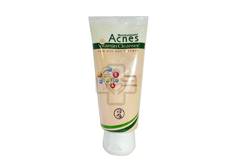 Acnes Vitamin Cleanser Tube 100g