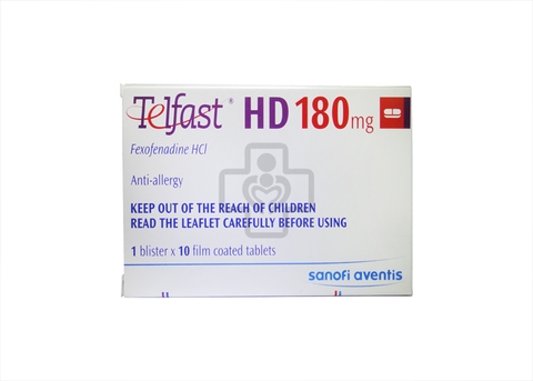 Telfast HD 180mg