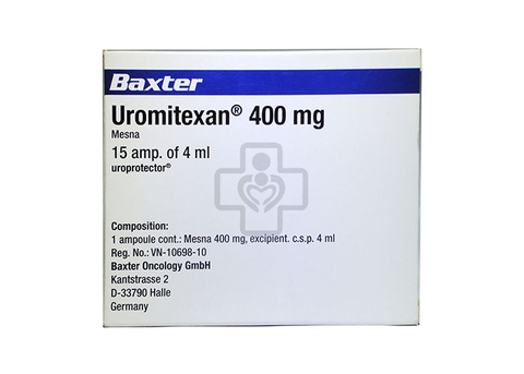 Uromitexan I.V 400mg/4ml