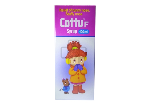 Cottu F Syrup 100ml