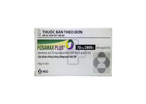 Fosamax plus 70mg/2800IU