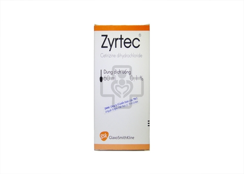 Zyrtec Oral Solution 0,1% 60ml
