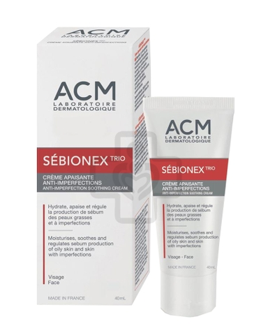 Sebionex Trio Cre 40ml (B/1tub)