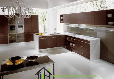 Tủ bếp gỗ nhựa là gì?