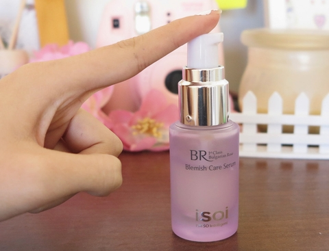 Tinh chất ISOI Bulgarian Rose Blemish Care Serum