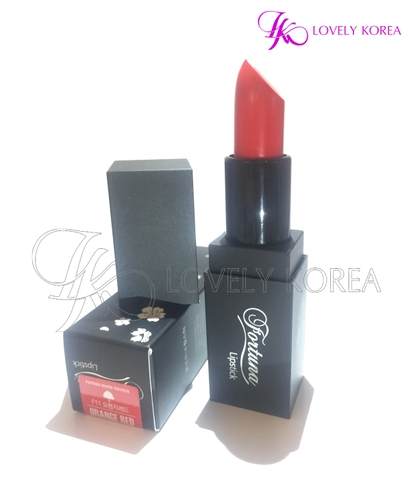 Son siêu lì Fortuna Lipstick (F11 - Orange Red)