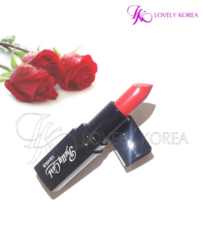 Son siêu lì Pretty Girl Lipstick (611 - Orange Pink)