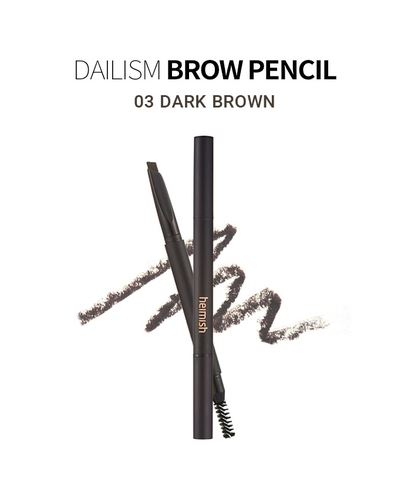 Chì kẻ mày Heimish Dailism Brow Pencil (Dark Brown)