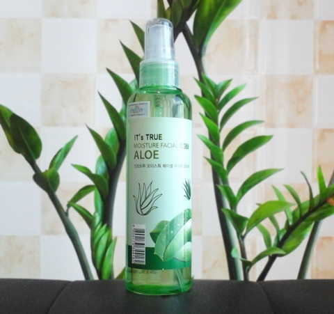 Xịt khoáng CELLIO It's True Moisture Facial Mist Aloe