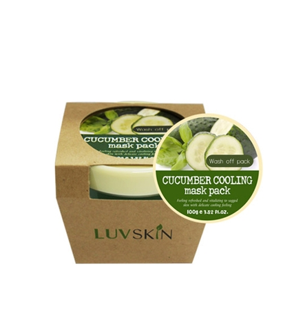 Mặt nạ Luvskin Cucumber Cooling Mask Pack