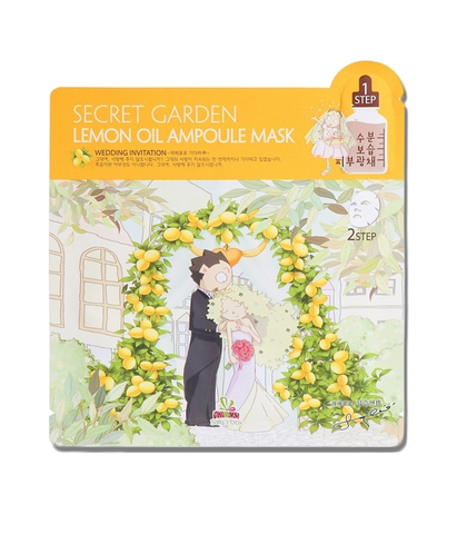 Mặt nạ IM1NE Sally's Box Secret Garden Lemon Oil Ampoule Mask