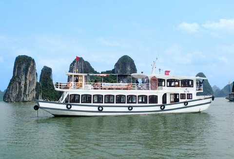 ALOVA DAY CRUISES HALONG 1 DAY - GROUP TOUR