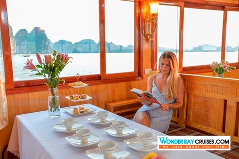 WONDER BAY CRUISES HALONG 1 DAY TOUR