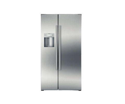 Tủ Lạnh Side-by-Side, mặt inox