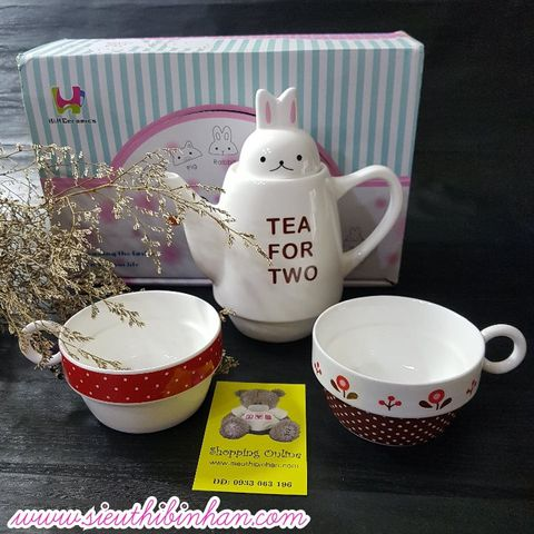 SET: TEA FOR TWO