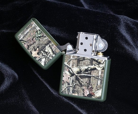 Zippo 28331 Mossy Oak Green Matte Break Up Infinity