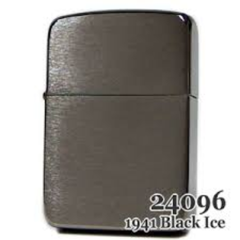 Zippo 1941 Replica Black Ice (Dark Chrome)