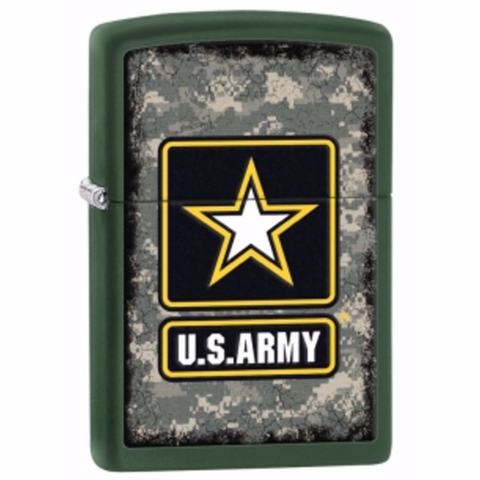 ZIPPO Green Matte US ARMY Heroes - 28631