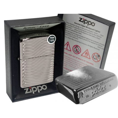 Zippo Deep Carved Waves