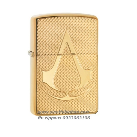 ZIPPO ARMOR ASSASSIN'S CREED DEEP CARVE