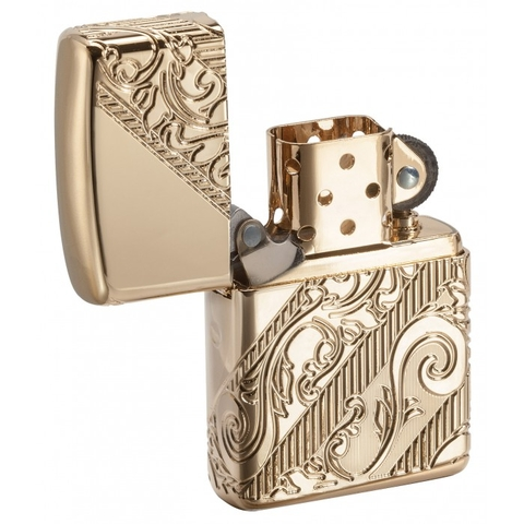 Zippo 2018 Collectible Of The Year Gold Plated Armor