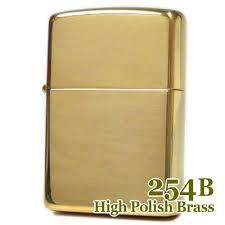 Zippo High Polished Brass 254b