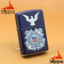 Zippo US Coastguard Seal & Eagle Navy Blue Matte