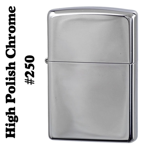 Zippo High Polish Chrome