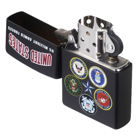 Zippo U.S. Military Armed Forces