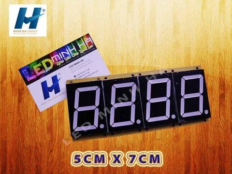 LED 7 THANH 5cm x 7cm (2,3inch)