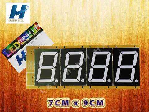 LED 7 THANH 7cm x 9cm (3 inch)