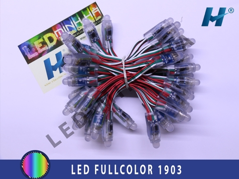 LED FULLCOLOR PHI 8 ĐẾ 12 ( IC 1903 )