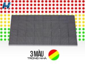 Bảng led ma trận p3.75 3 màu trong nhà