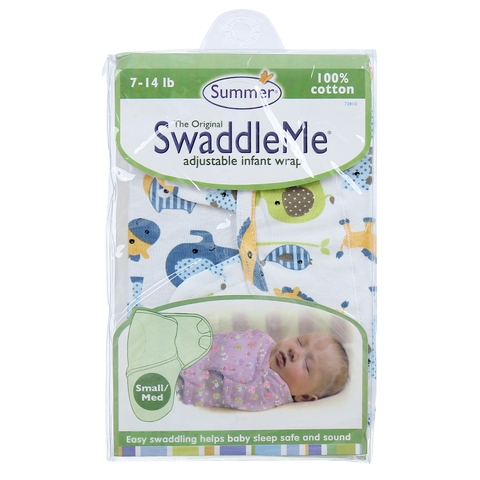 Ủ kén cotton Summer SwaddleMe
