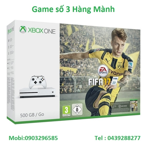 Xbox One S FIFA 17 Bundle 500GB