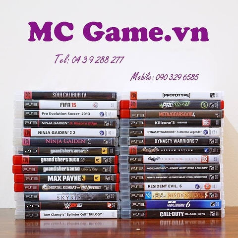 Games PS3 2nd hand ( Xem chi tiết )