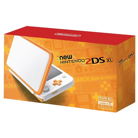 New Nintendo 2DS XL cam trắng US