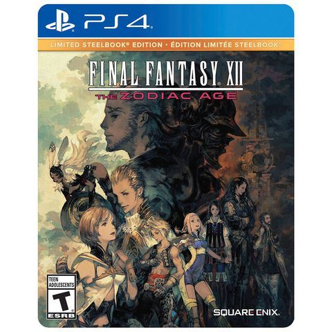 Final Fantasy XII: The Zodiac Age - STEELBOOK ( US )