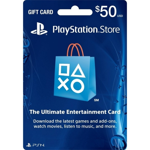 PSN Card 50$- US
