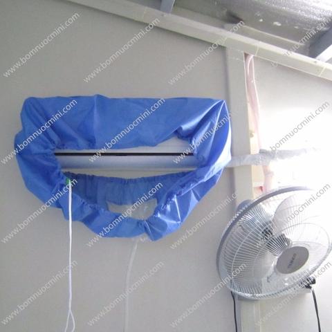 áo rửa máy lạnh