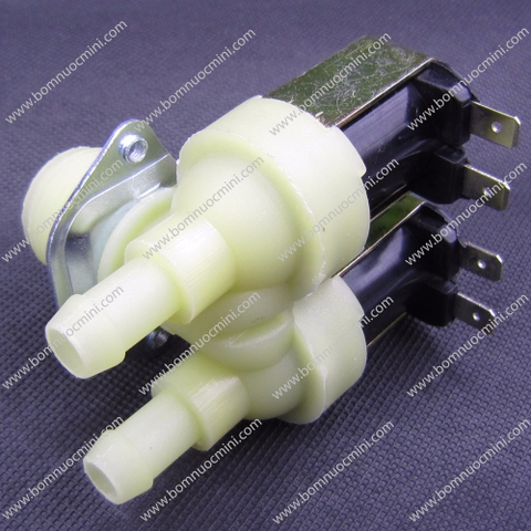 Van Điện Từ 12V 1 IN 27mm - 2 OUT 10mm